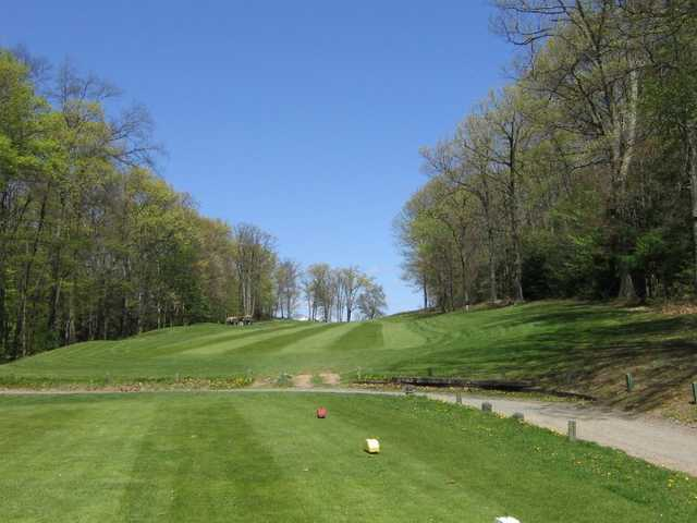 A view from tee #18 at Edgewood Golf Club
