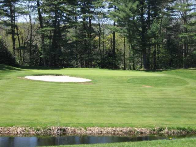 A view of hole #13 at Edgewood Golf Club