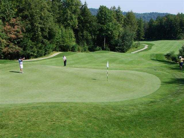 A view of the 2nd hole at Brattleboro Country Club