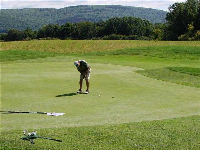 A view of hole #7 at Brattleboro Country Club