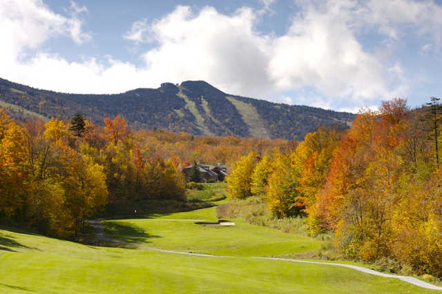 A view from fairway #16 at Killington Golf Resort