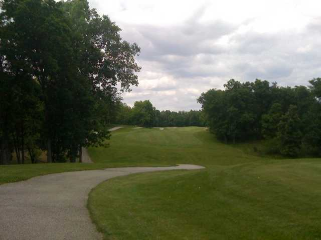 A view from tee #10 from Eagle Creek Golf Course