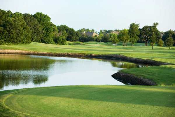 A view of the 11th green at Bridlewood Golf Club