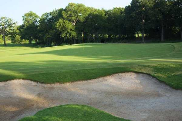 A view of the 16th hole at Bridlewood Golf Club