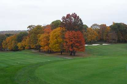 A fall view from Sterling Farms Golf Course