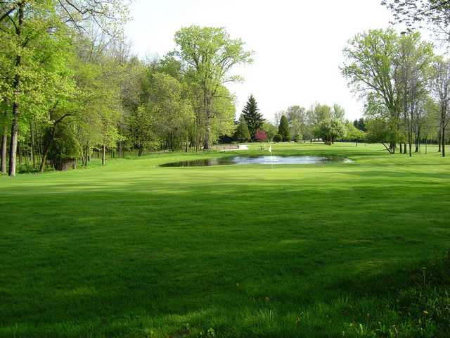A view of hole #5 at Branch River Country Club