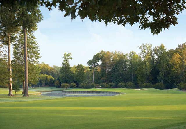 A view from Woods course at The Club at Kingsmill.