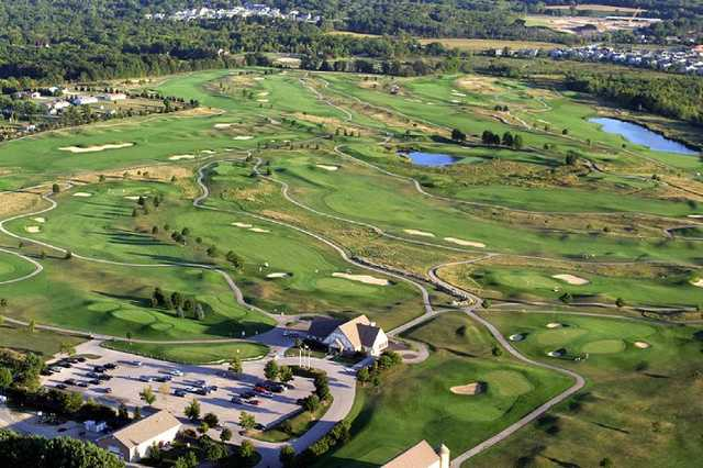 Aerial view from Washington County Golf Course