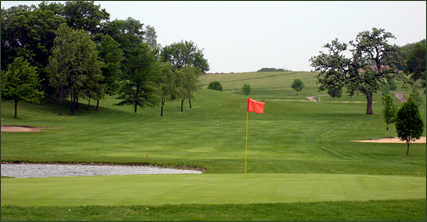 A view of green at Viroqua Hills Golf Course