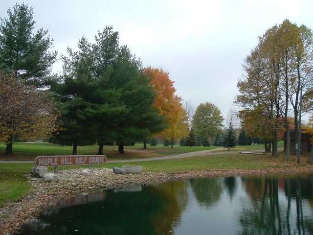 A fall view from Maple Hill Golf Course