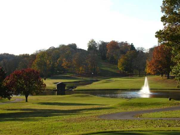 A view from the13th tee at Ravenwood Golf Club