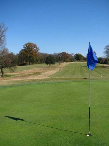 A view of the 6th hole at Ravenwood Golf Club