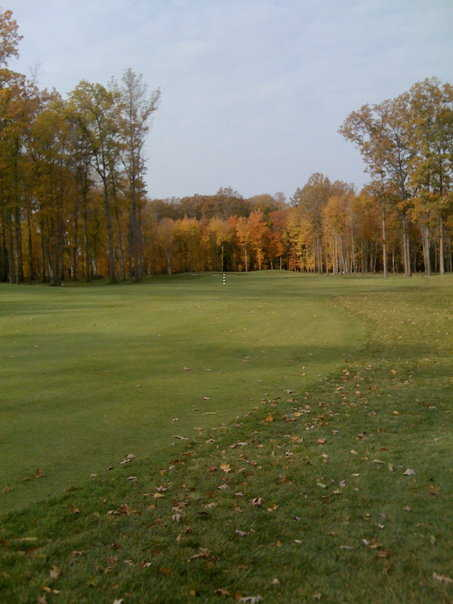 A view of the 11th fairway from Legacy course at Sweetbriar Golf & Pro Shop