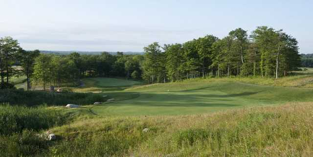 A view of a hole at Mill Creek Golf Club.