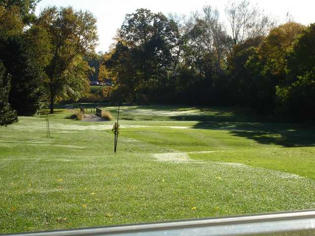A view of hole #11 at Indian Trails Golf Course