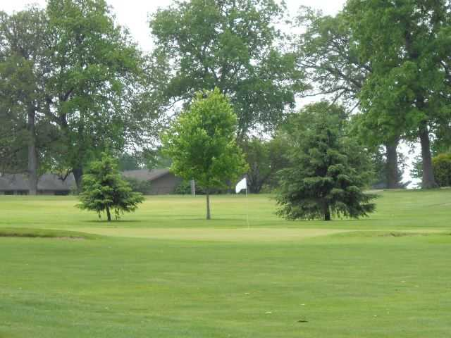 A view of a green at Oak Grove Country Club