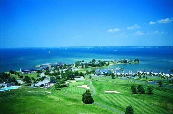 A view from Harbourtowne Resort Country Club