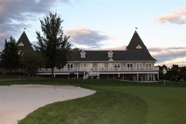 A view of the clubhouse at Springfield Country Club