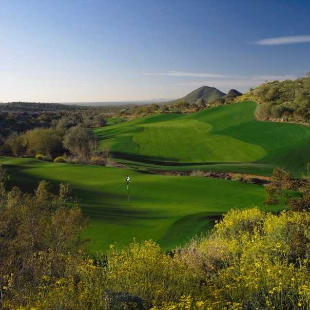 A view of green #14 at Eagle Mountain Golf Club