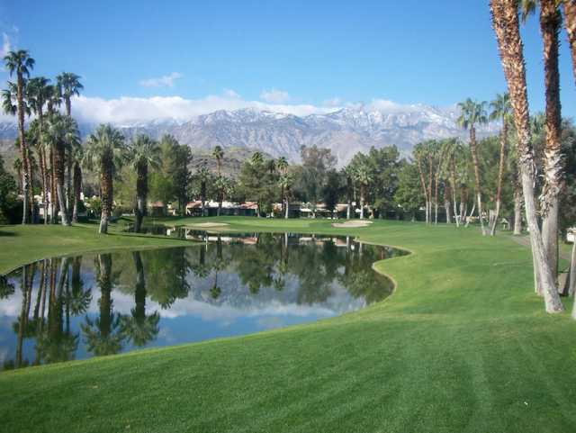 A view from Cathedral Canyon Golf Club