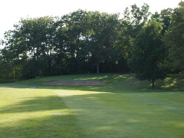 A view of green at Faulkwood Shores Golf Course