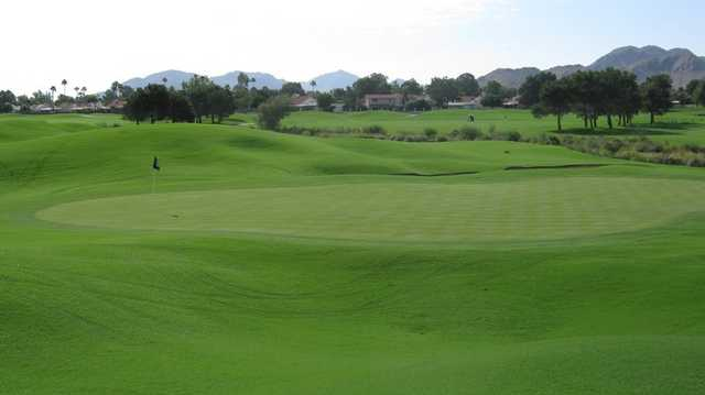 A view of the 2nd green at Stonecreek Golf Club