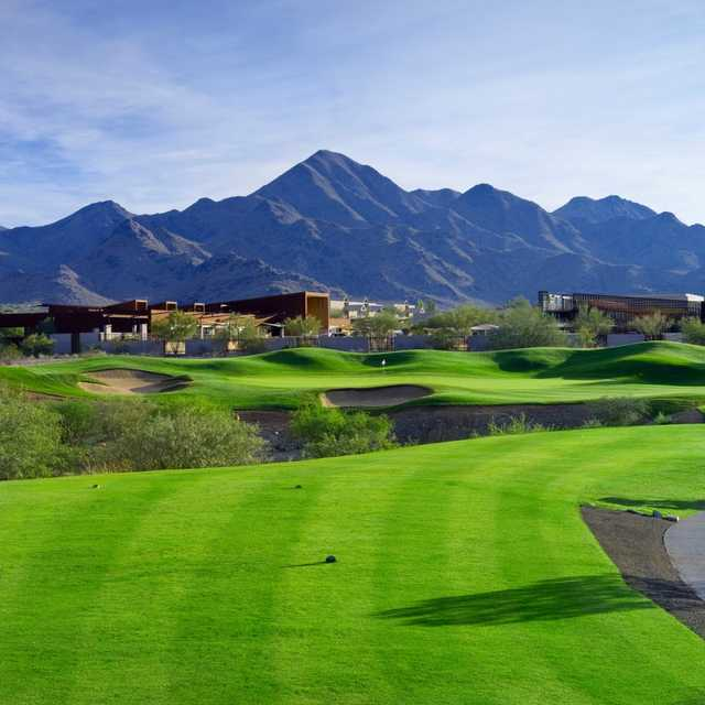 A view of the 14th hole at McDowell Mountain Golf Club (Dick Durrance)