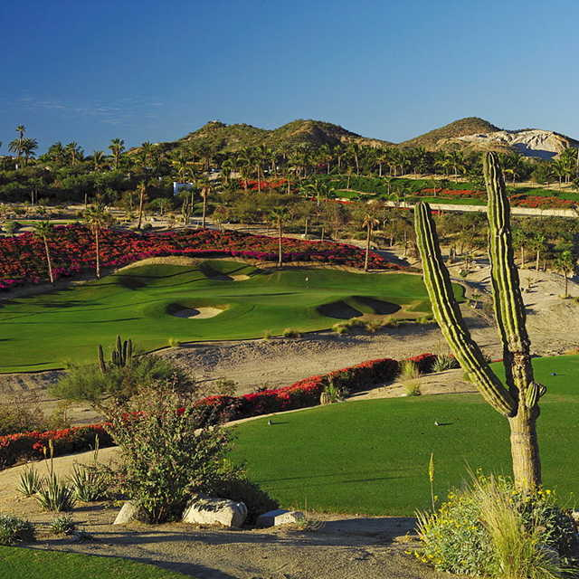 A view of the 4th hole at Ocean Golf Course from One&Only Palmilla Golf Club
