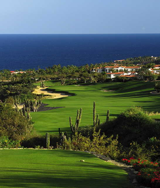 A view of the 7th hole at Arroyo Golf Course from One&Only Palmilla Golf Club