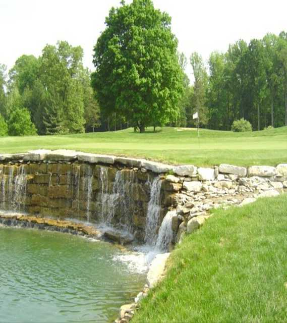 A view of green #18 at Old Capital Golf Club