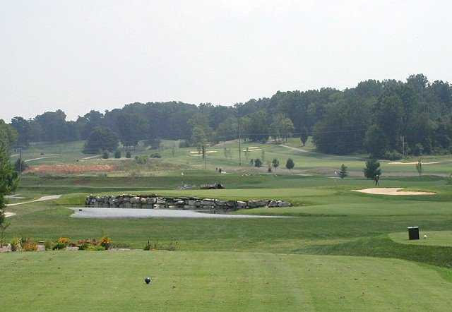 A view from tee #14 at Old Capital Golf Club