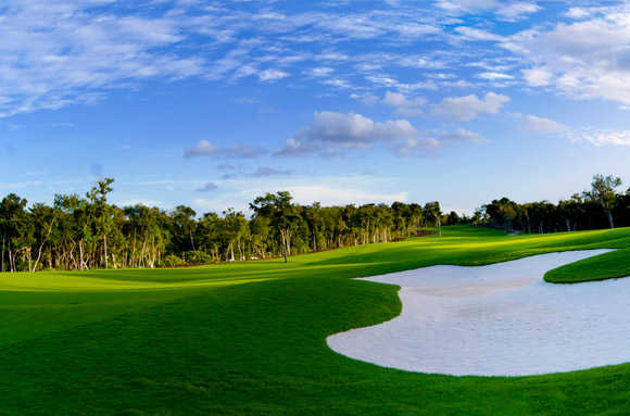 A view from Riviera Maya Golf Club