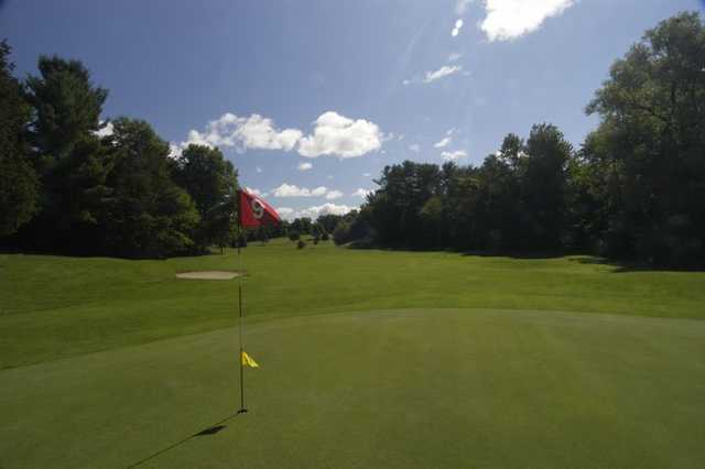 A view from green #9 at Thunderhart Golf Course