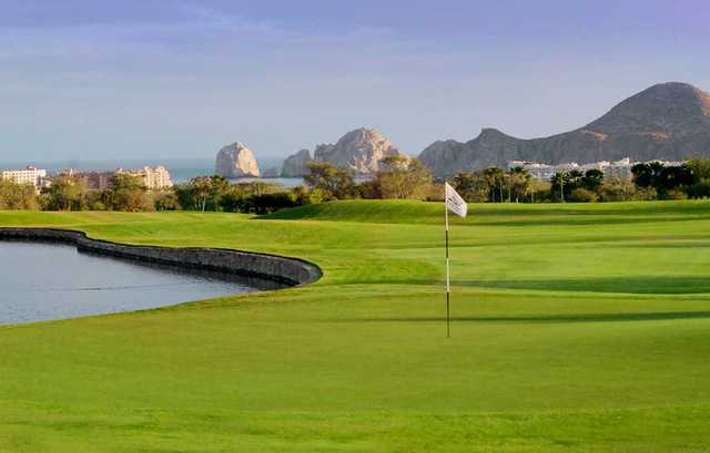 View of a green at Cabo San Lucas Country Club