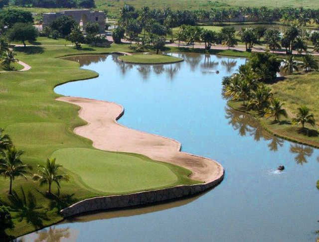 Aerial view from El Tigre Club de Golf
