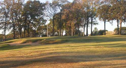 A view of the 3rd hole at Cedar Creek Country Club