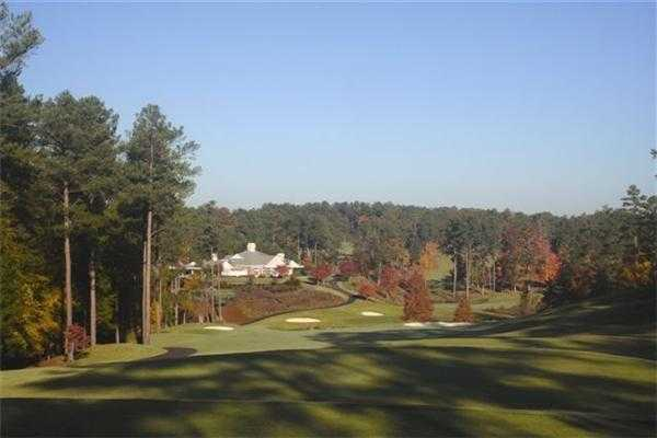 A view of the clubhouse from Tara GC at Savannah Lakes