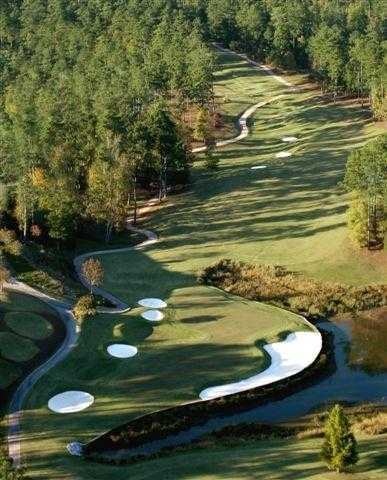 Aerial view from Tara Golf Club at Savannah Lakes