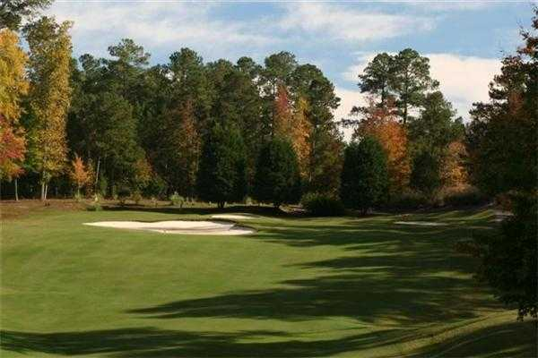 A fall view from Tara Golf Club at Savannah Lakes