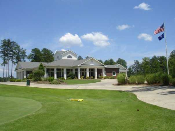 A view of the clubhouse from Monticello Golf Club At Savannah Lakes