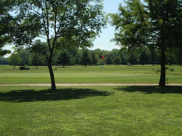 A view of green at Cypress Run Golf Course