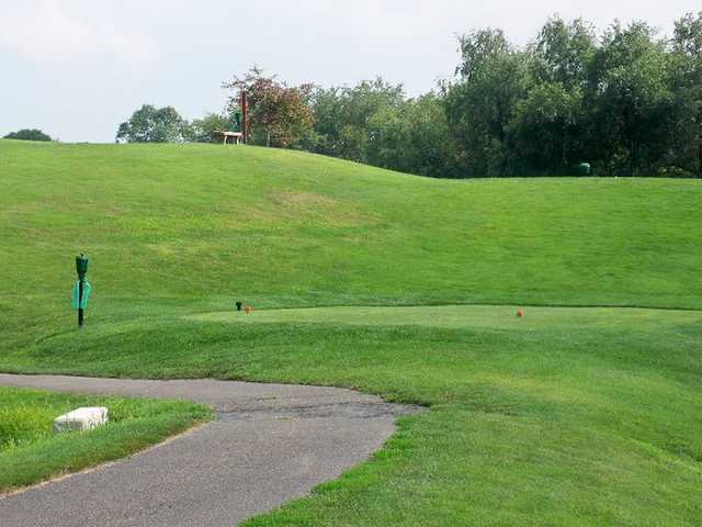 A view of teebox #3 at Lenape Heights Golf Course