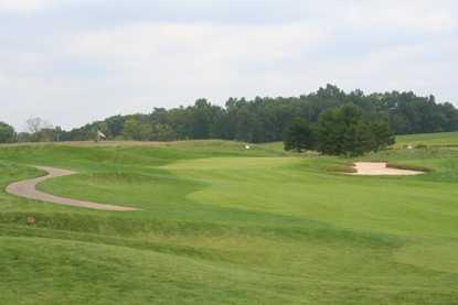 A view of hole #3 at Calderone Golf Club