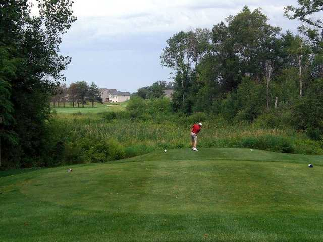 Ponds' White Nine: Hole #7 (from the white tee box)