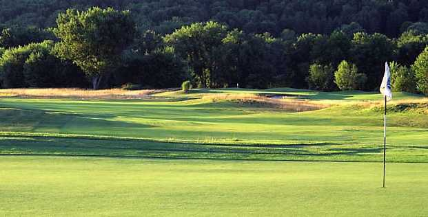 A view of hole #9 at Links at Hiawatha Landing