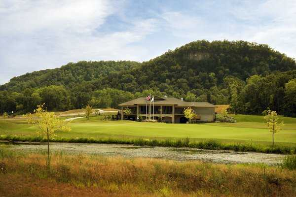 A view of the clubhouse at Jewel Golf Club