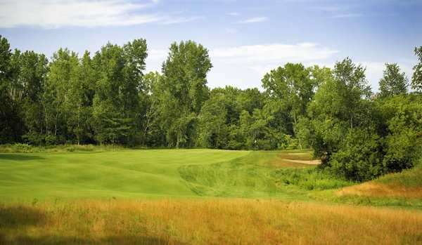 A view of hole #13 at Jewel Golf Club