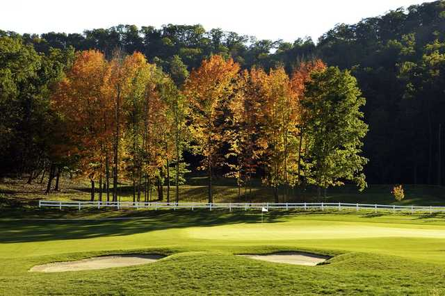 A view of the 15th hole at Jewel Golf Club.