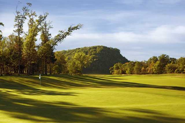 A view of green #18 at Jewel Golf Club