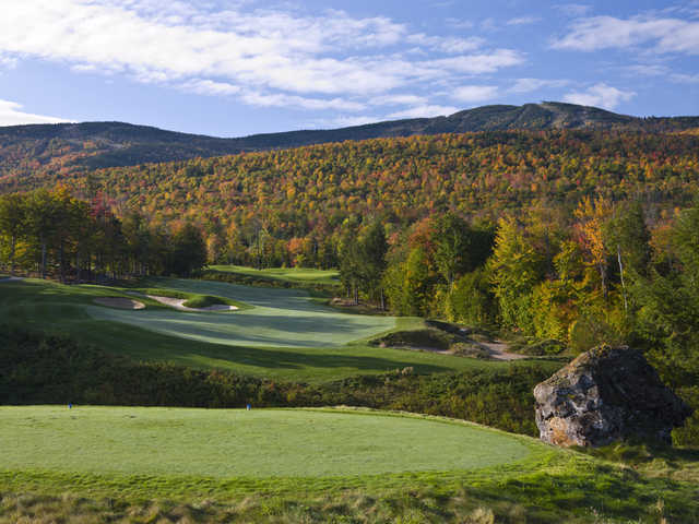 A view from tee #9 at Sunday River Golf Club